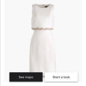 JCrew Going Places Dress in Linen (Tall)